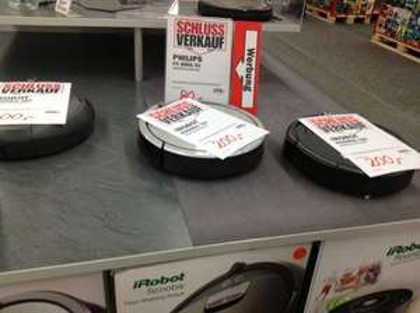 iRobot Roomba 760 / Scooba 390 - 200€ - Media Markt - Borsigallee - Frankfurt am Main (FFM) **LOKAL**