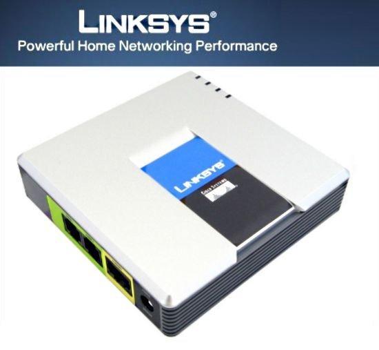 LINKSYS CISCO PAP2T Adapter - Altes Telefon für SIP-VoIP/Sipgate verwenden