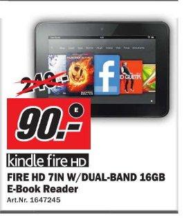 [ Media Markt Wuppertal ]  Amazon Kindle Fire HD 16GB  90€
