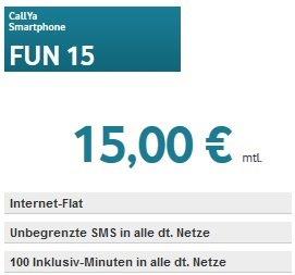 Vodafone Smartphone FUN 15 Simkarte inkl.  45 € Startguthaben für 19,95 € @Amazon.de