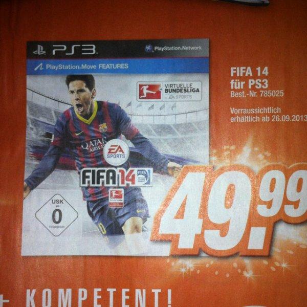 [Lokal HEM Expert Singen] PS 3 Fifa 14