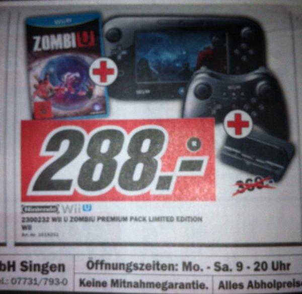 [Lokal MM Singen] Wii U ZombiU Premium Pack Limited Edition