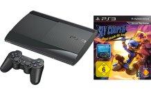 SONY PS3 12GB schwarz inkl. Sly Cooper: Jagd durch die Zeit