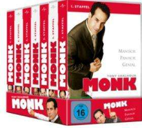 Monk Season 1-7 Box (28 DVDs) bei Promarkt