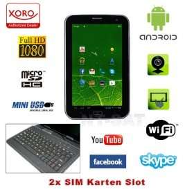 Xoro TelePAD 730 1GB/8GB Android 4.1 3G GPS @rakuten für 114,90€