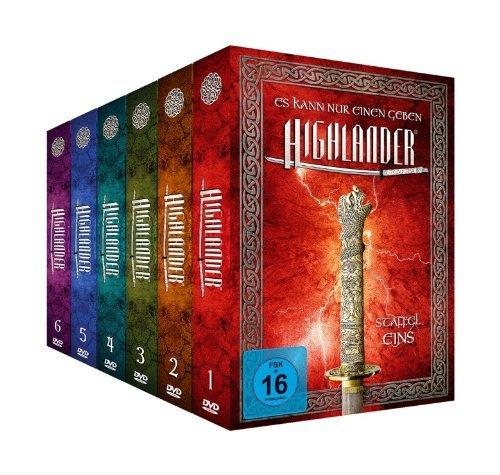 Highlander - Package 1-6 [Limited Edition] [45 DVDs] für 67€ @Amazon