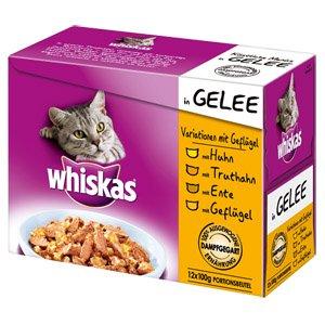 Real - Online Shop - Whiskas Portitionsbeutel 12 er MP Variationen für 2,99 Euro + 4,95 Euro VSK,