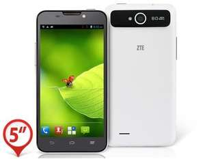 "ZTE V987 185,74 € incl. Versand- 5.0"" Capacitive IPS Touch 1280x720 Android 4.1 Quad Core MTK6589 1.2GHz 1GB RAM & 4GB ROM 3G Smartphone"