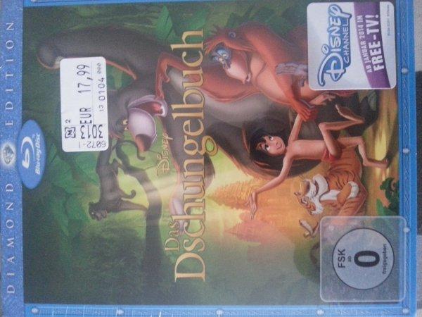 [Müller bundesweit] Disney Das Dschungelbuch BluRay für 15,99