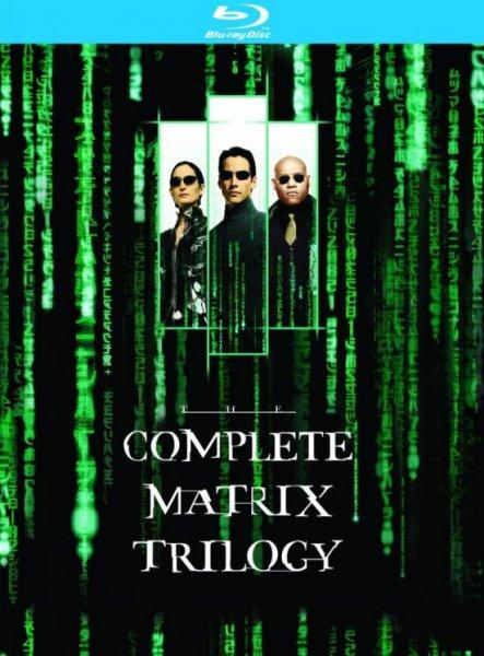 The Matrix Trilogy [Blu-ray] UK-Version [@Zavvi.com]