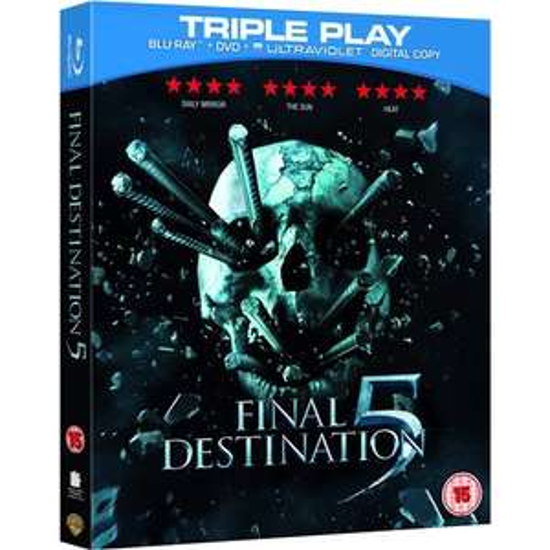 Blu-ray - Final Destination 5 (Triple Play / 2 Discs) für €5,89 [@Zavvi.com]