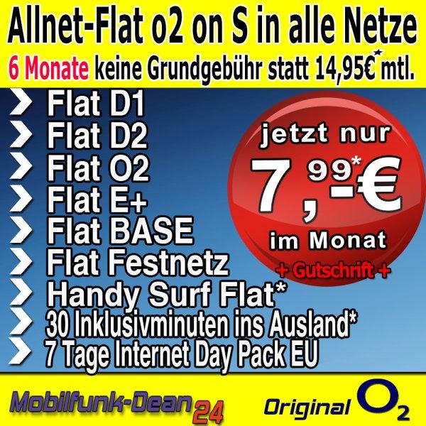 o2 on Business S nur 7,99€