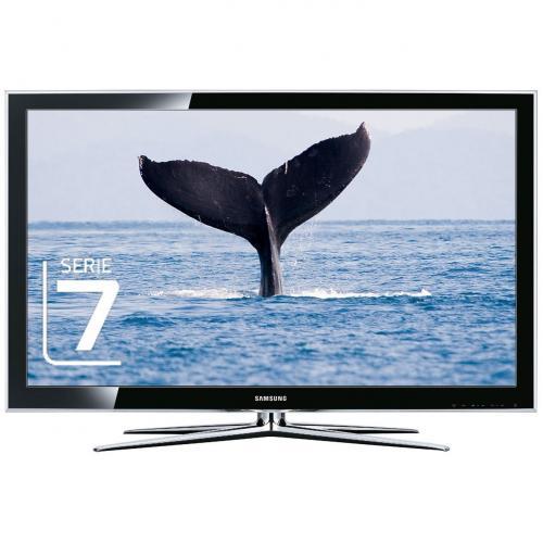 Samsung LE46C750 116,8 cm (46 Zoll) 3D-LCD-Fernseher  mit 3D-Brille schwarz