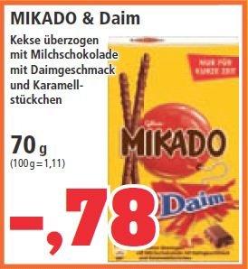 [lokal] Mikado Daim 70g Packung für 78 cent bei Thomas Philipps