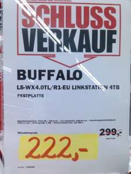 [MM Köln-Kalk] Buffalo Link Station Duo 4TB
