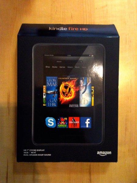 [Lokal]Kindle Fire HD 7 16GB [Wunstorf, Stadthagen, Rinteln]