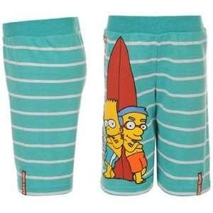 Simpsons Fleece Shorts Kids @ SPORTSDIRECT 1,19€ + VSK