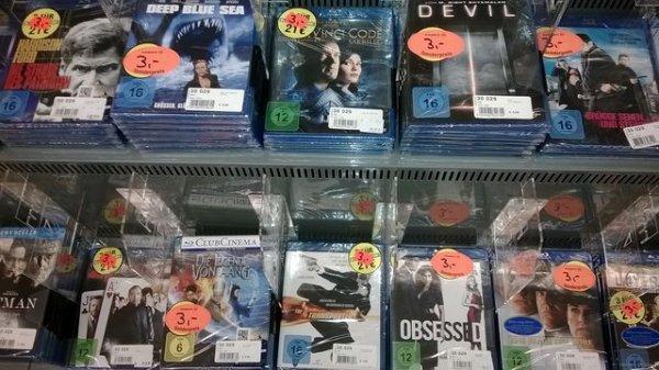 [Lokal] Versch. Blu-Rays für 3€ - ProMarkt Bad Säckingen