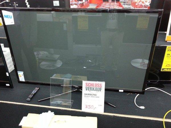 """[Lokal- Hamburg] Mediamarkt 60"""" FullHD plasma-TV Samsung PS60F5000 ->25% billiger als Idealo"""