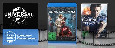 Viele BRs/DVDs von Universal bei Brands4Friends im Verkauf (2,90€ bis 39,90€)