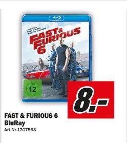 [LOKAL] Fast & Furious 6 Blu-Ray für 8,00 Euro (Media-Markt Halle/Saale Peißen)