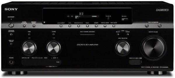 UPDATE: Sony STR-DA5800ES 9.2 AV-Receiver (9x HDMI in, 2x HDMI out, 4x Opt. in, 1x Opt. out, 4K Upscaler 1080p, DLNA, Audio Jitter Reduzierung mit H.A.T.S) schwarz [qipu: -89,96 €, ca. 42,0% Ersparnis ggü. idealo (2.450,90 €]
