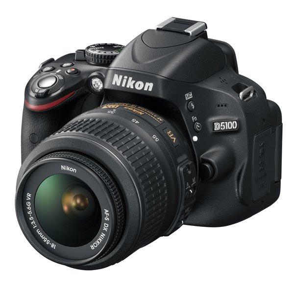 Nikon Spiegelreflexkamera D 5100 KIT AF-S DX 18-55 VR Kit - bei Ebay - Versand kostenlos / qipu möglich