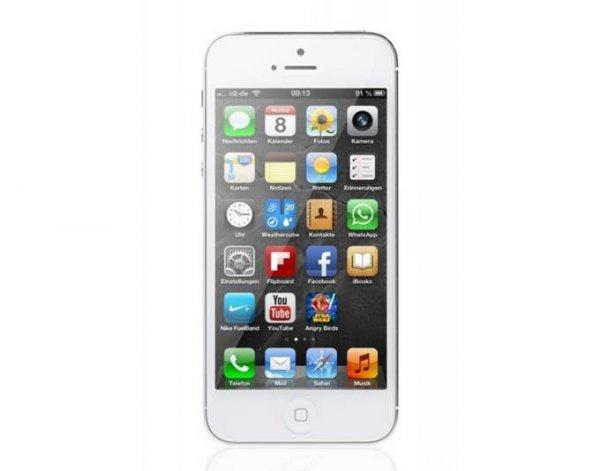 Apple iPhone 5 16GB weiß @meinpaket für 499,-€