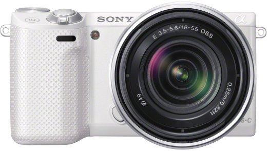 Sony NEX 5R mit 18-55 weiß - Warehousedeals wie neu, 393,54 €