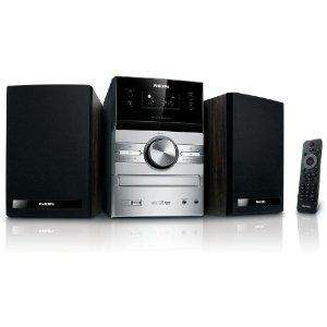 [Warehouse] Philips MCM 207 Kompaktanlage (CD/MP3/WMA-Player, UKW-/MW-Tuner, USB 2.0) schwarz/silber