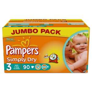 PAMPERS Simply Dry Gr. 3