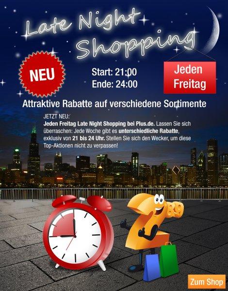 15 % auf Baumarkt im Late Night Shopping bei Plus.de - Kawasaki Handkreissäge für nur 68 €€