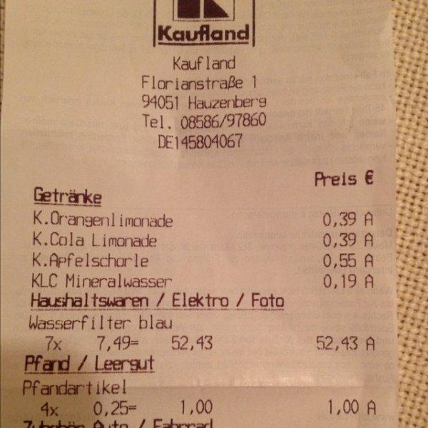[Lokal Hauzenberg] Brita Wasserfilter Marella inkl. 3 Kartuschen für 7,49€
