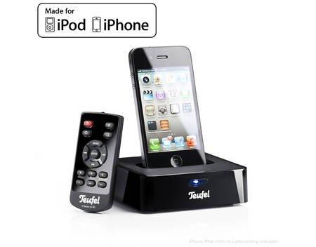 iTeufel Dock v3 Schwarz iPod/iPhone [MeinPaket.de] für 32,10€