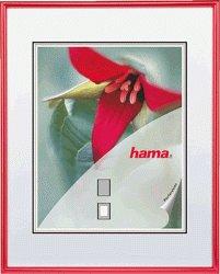 [Lokal] Media-Markt Halstenbek, Bilderrahmen aus Kunststoff in rot 60x80cm von hama für 3€ statt 21€