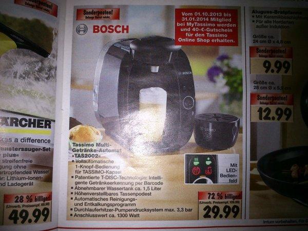 Kaufland Dessau Bosch Tassimo TAS 2002 für 29.99 EUR