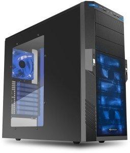 Sharkoon T9 Value - ATX-Gehäuse, USB 3.0, Seitenfenster Platz für 9x 5,25 Zoll @ZackZack