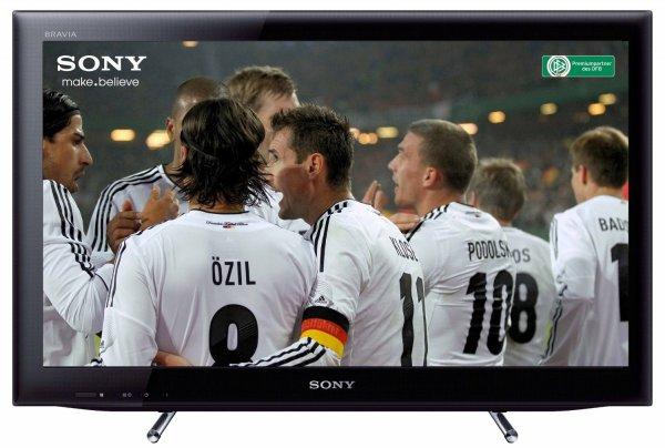 Sony KDL22EX555 55 cm (22 Zoll) LED-Backlight-Fernseher, EEK B (HD-Ready, 50Hz, DVB-T/C/S2, Internet TV) schwarz  EUR 199,-- @amazon.de