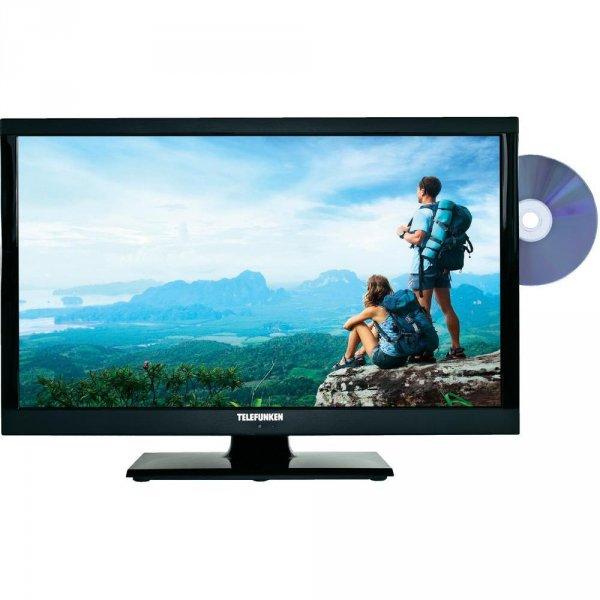Telefunken 22 Zoll LED Blacklight Full HD Triple Tuner DVBS2/C/T mit DVD Player
