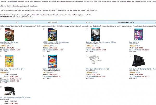 Amazon 3 für 49 - 2 Spiele effektiv für 30 Euro wenn man einen Titel bei Rebuy verkauft
