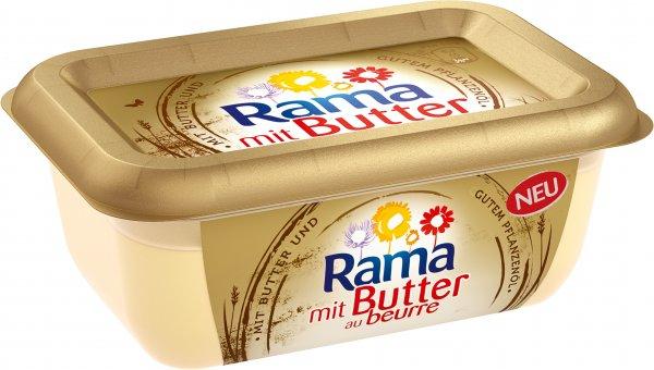 Rama mit Butter [Rewe  Bundesweit] 0,19€