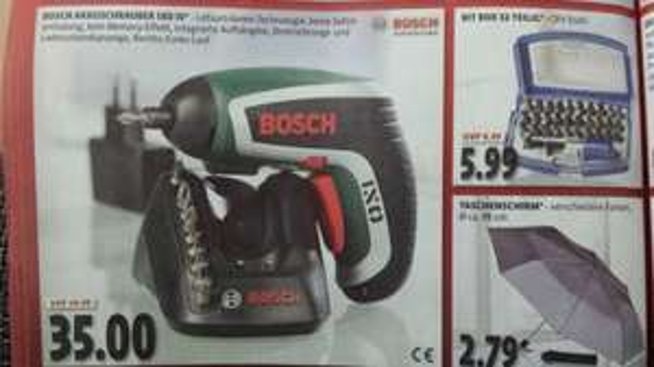 [Lokal Berlin?] Bosch IXO IV bei Kaiser's