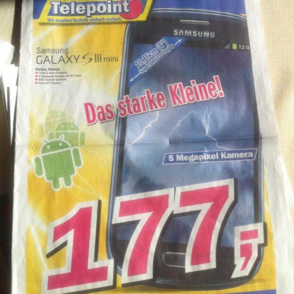[Offline] Telepoint Samsung Galaxy S 3 Mini