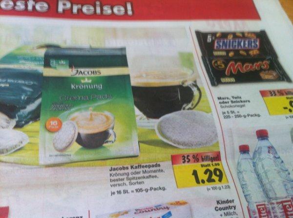[Kaufland Meppen] Jacobs Kaffepads