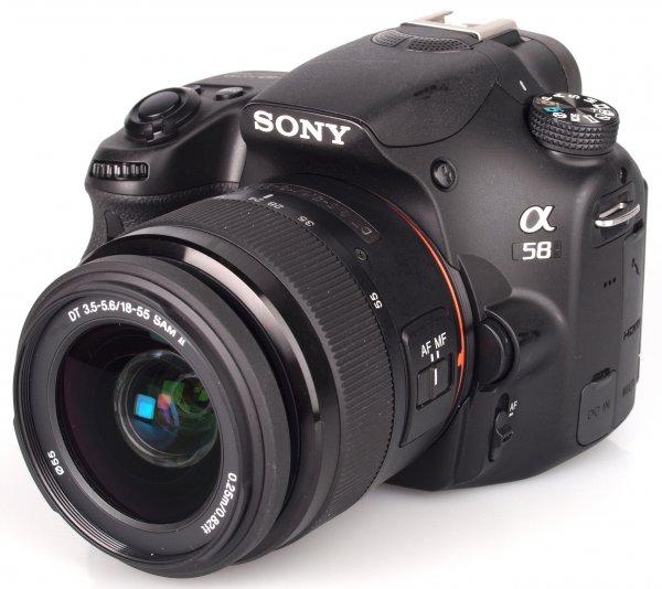 SONY Alpha (SLT-A) 58 K (18-55) - EU für 359,99 €