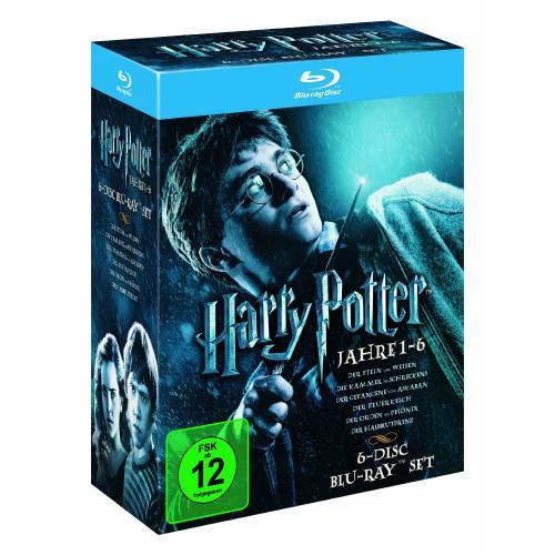 Harry Potter - Die Jahre 1-6 [Blu-ray] [Jetzt noch günstiger!!!]
