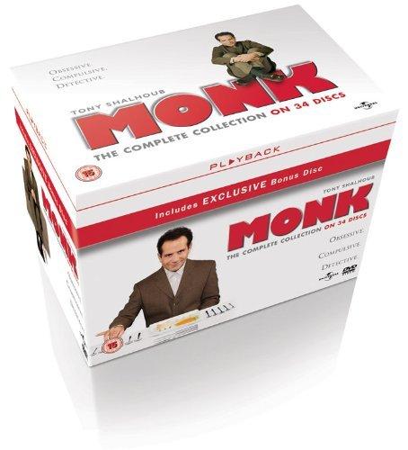 Monk - The Complete Collection (UK) für 35,60€ @Zavvi