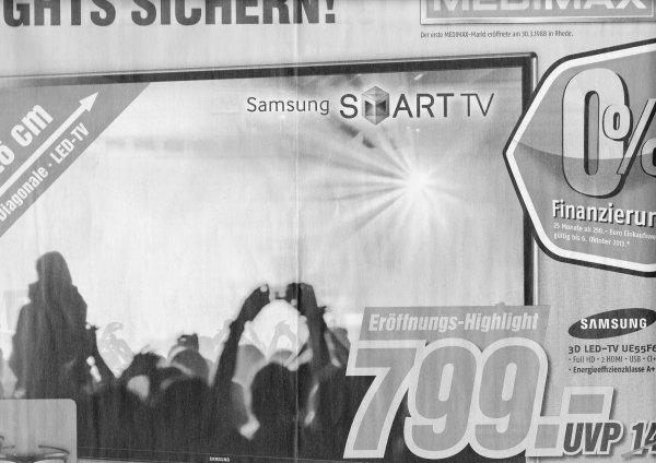 [Lokal Fulda] Samsung UE55F6170 für 799€ (Geizhals ab 919€); Philips 46PFL3108K/12 für 399€ (Geizhals ab 475€); Sony Xperia E Dual-SIM 99€