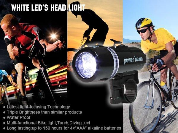LED Fahrradlampe für nur 3,99 € @ Amazon