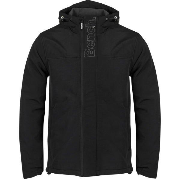 Bench Men's Raft Coat Jacke in schwarz für ~36€ inkl Versand @Zavvi